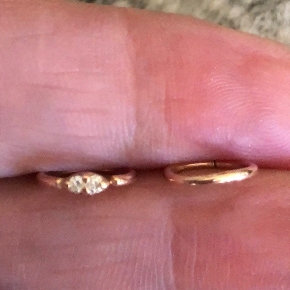 Bvla Jewelry Rose Gold Ring Bundle Poshmark
